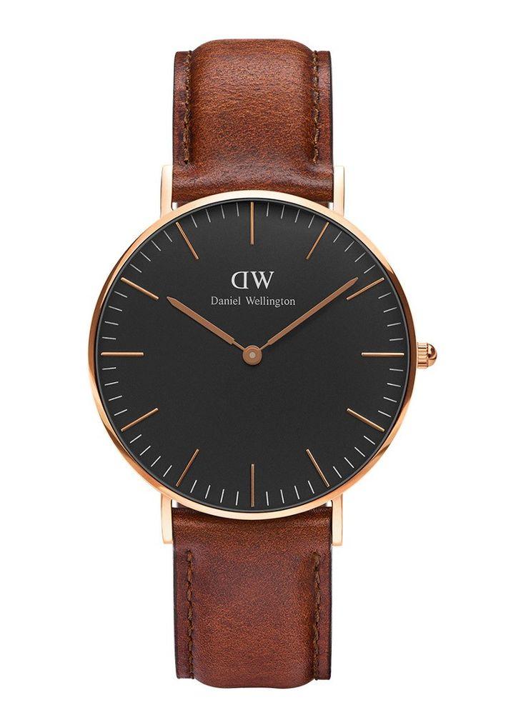 Daniel Wellington Horloge Black St Mawes DW00100136 • de Bijenkorf
