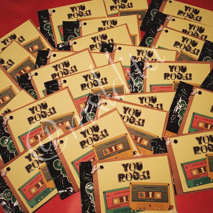 pop rocks + mix tapes valentine cards (2015)   http://livelaughrowe.com/you-rock-valentines-printable/