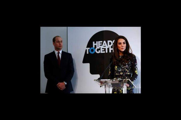 Kate Middleton, Les Princes Harry et William arrivent au Musée des Arts Contemporains, à Londres.
