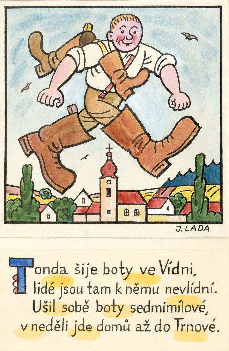 Kalamajka – Tonda šije boty ve Vídni (Obuvník), 1913