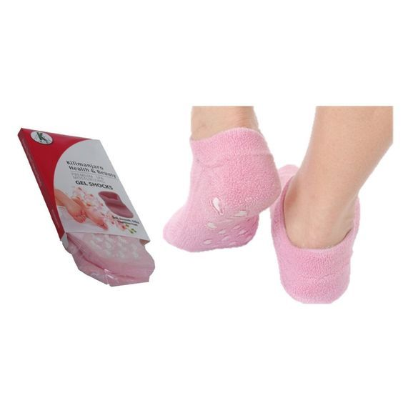 Moisturizing Socks Best Spa Socks Gel Infused Essential Oils Moisturize Soften Your Feet these Gel Socks Deeply Hydrate Skin Vitamin E Rose Oil Jojoba Oil Olive Oil the Ultimate Pedicure Experience -- Learn more by visiting the image link.