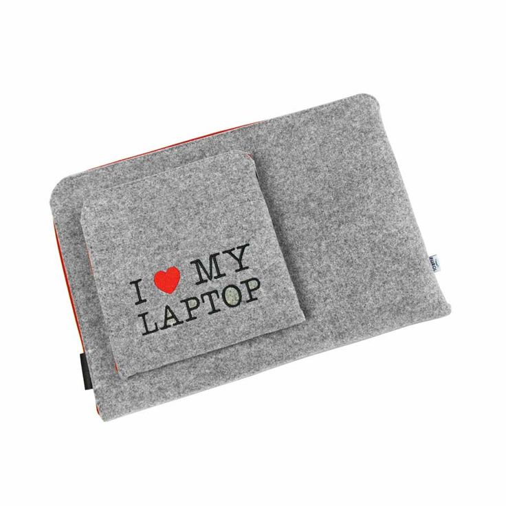 POKROWIEC I LOVE MY LAPTOP #laptopcover #macbookcover #schutzhulle #laptopschutzhulle