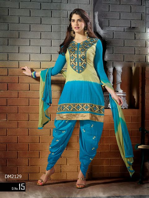 15 best New Styles Patiala Embroidery Designer Dress ...
