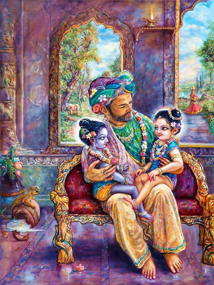 Painting by Pushkar Das