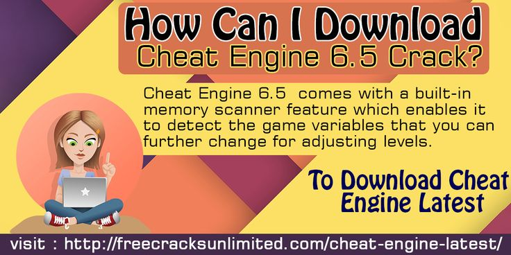 Cheat Engine 6.5 comes with a built-in memory scanner feature which enables it to detect the game variables that you can further change for adjusting levels.