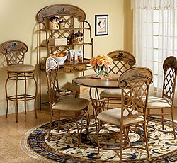 Awesome Rooster Chairs | Save $ 90 On Our Hand Painted Rooster Dining Set Colorful  Roosters .