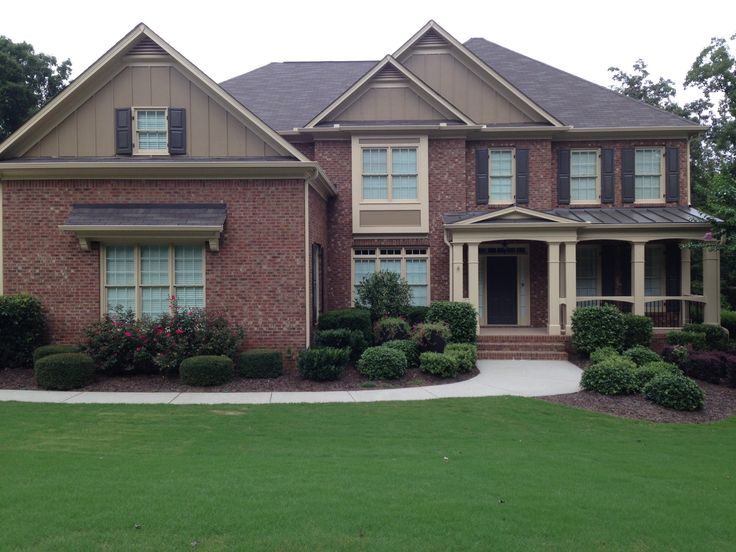 Exterior House Colors With Red Brick 91 best two story house colors with res brick images on pinterest