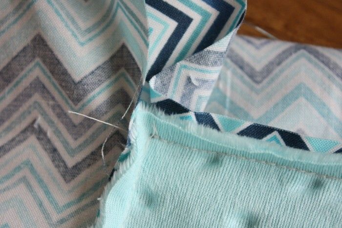 how to add binding to a baby blanket