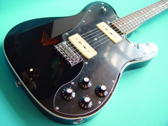 Peter Cook's Guitar World - Fender Telecaster Custom P90 FSR – Black - Electric Guitars