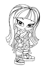 10 best Monster High Para Colorear images on Pinterest  Drawings