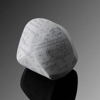 Porcelain Gömböc is the world's first artistic representation of this mathematical innovation. This fascinating masterpiece is ideal for collectors, porcelain and design lovers.