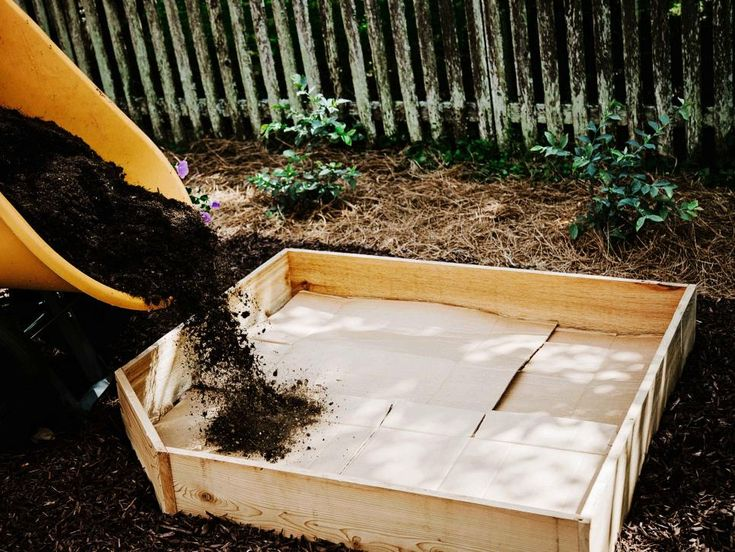 How to fill your raised garden bed hgtv raised garden