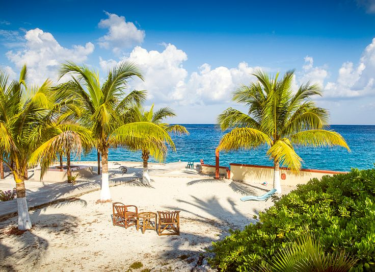 Cozumel island in Mexico.