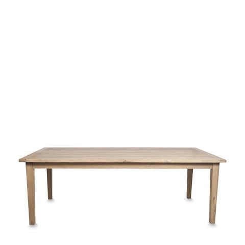 Tapered Leg Table Pacific Oak
