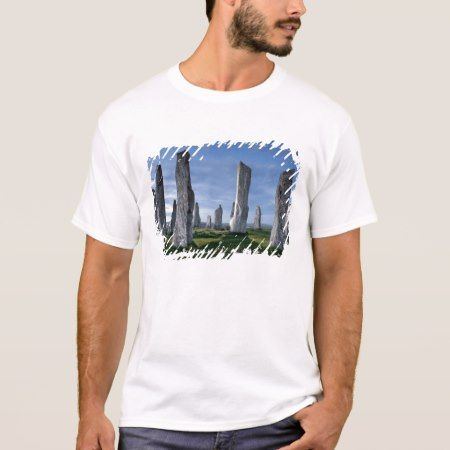 Callanish, Isle Of Lewis, Scotland. T-Shirt - click to get yours right now!