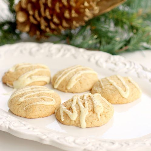 Eggnog Cookies- recipe for the cookie swap