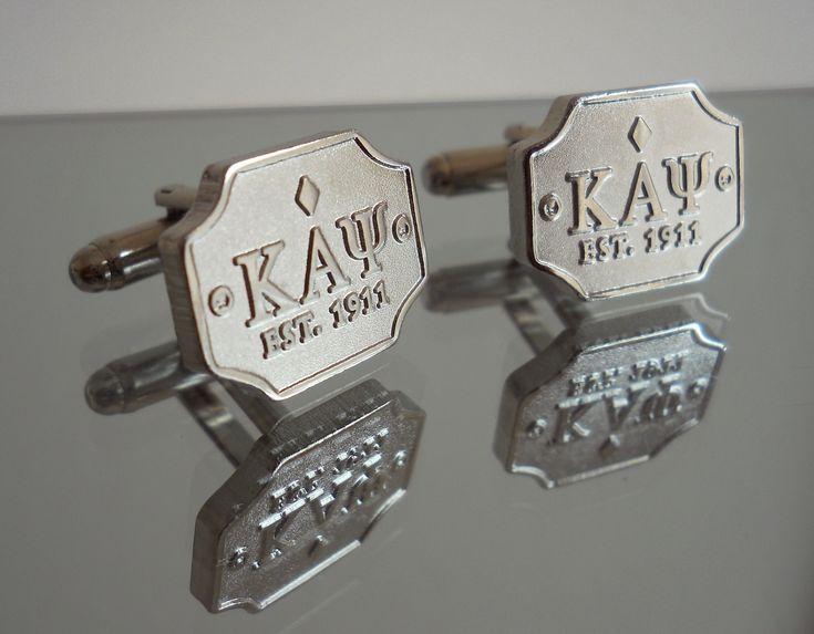 NUPEMALL | Kappa Alpha Psi | Kappa Alpha Psi est.1911 cufflinks | Online Store Powered by Storenvy