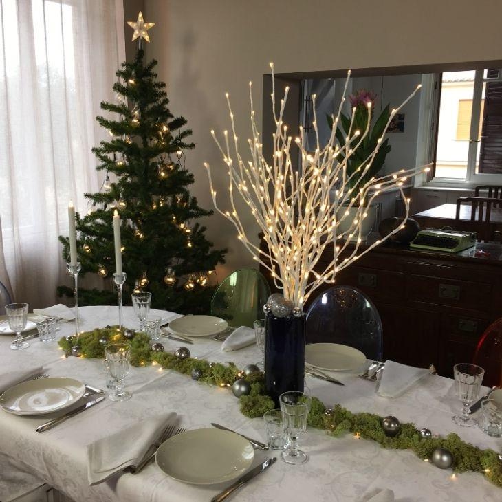 Apparecchiare e decorare la tavola di Natale
