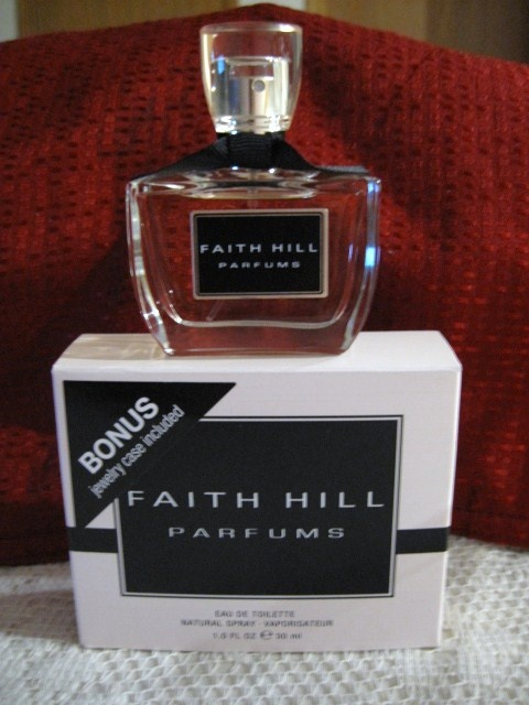 Faith Hill Perfume I got this one 12-25-09 one of my Christmas...