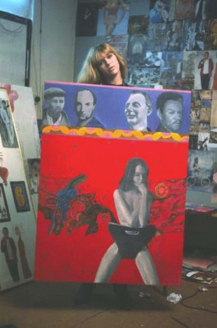 Scandal' – Pauline repays Lewis Morley, using his already famous image of…