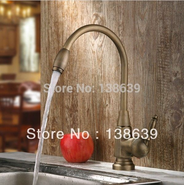 63.95$  Buy here  - New design Antique brass Bathroom Faucet Basin Sink Spray Single Handle Mixer Tap,brass thermostatic mixing valve,Free shipping
