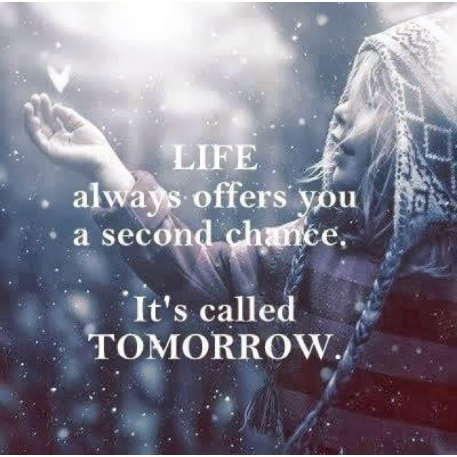 Quotes On Forgiveness And Second Chances: Second Chance Quotes About Life. QuotesGram