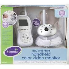 Summer baby video monitor