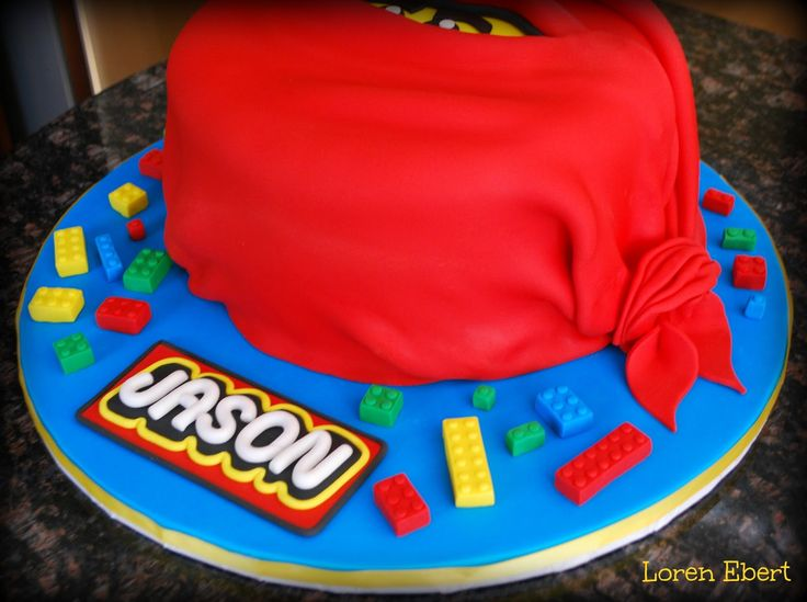 The Baking Sheet: Lego Ninjago Cake!
