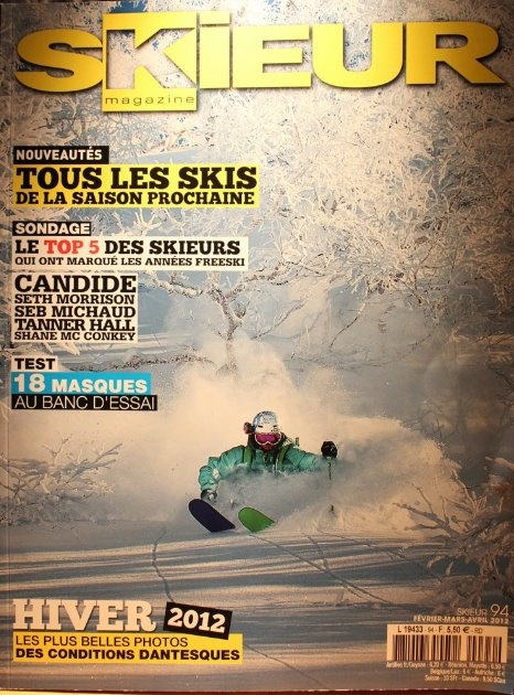 Romain Grojean Cover  Ski Team