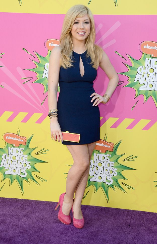 Jennette McCurdy At The Nickelodeon Kids Choice Awards 2013