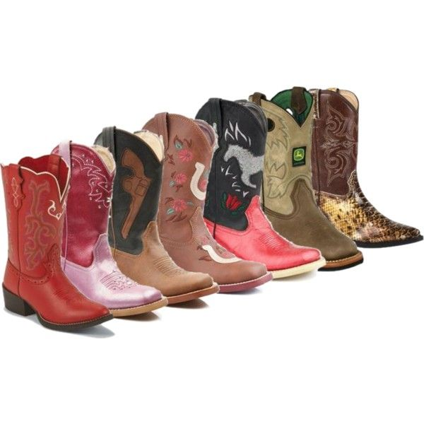 """""""New Boots for Kids!"""" by bootbarn on Polyvore"""