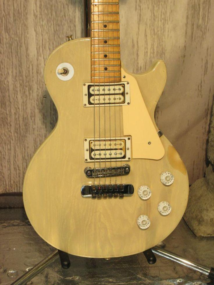 1977 ibanez deluxe 59er les paul copy with a bolt on maple neck guitars pinterest les. Black Bedroom Furniture Sets. Home Design Ideas