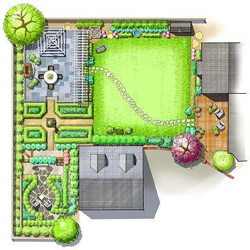 Classic-Style Landscape Plan