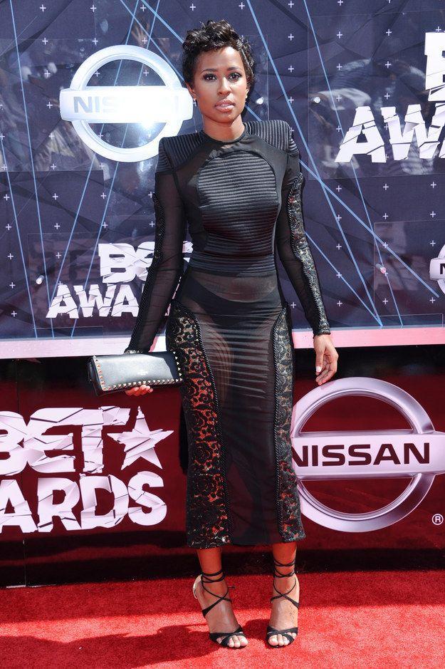 DeJ Loaf At The 2015 BET Awards.