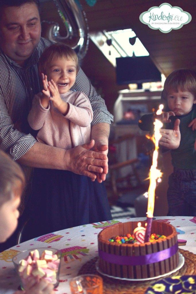 JAK ZROBIĆ CZEKOLADOWY TORT URODZINOWY? Czyli Kinderkowe urodziny
