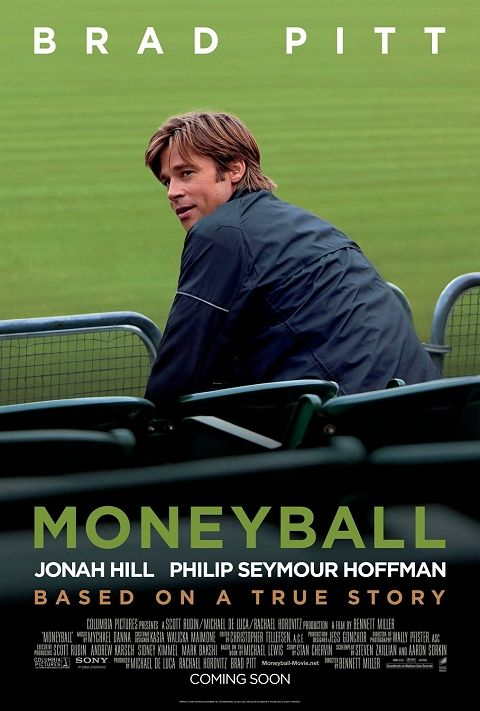Saw on Flight to USA on 1/25/2012  The film is based on Michael Lewis's 2003 book of the same name, an account of the Oakland Athletics baseball team's 2002 season and their general manager Billy Beane's attempts to assemble a competitive team.