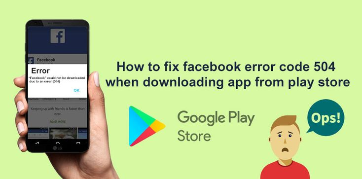 Whenever you can install a Facebook for Android application from the Play Store, you will see an error message on the screen. In this situation, you can not install Facebook app on your Android device or smartphones. Error code 504, is not a Facebook application issue. Because of the slow Internet connection on your WI-FI or mobile data network, errors at Google play-store gateways are associated.