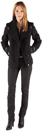 Caban avec découpes   Blousons et manteaux   Comptoir des Cotonniers