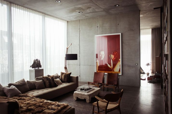 Art meets ARTchitecture In The Penthouse Of Christian And Karen Boros | photo © Ailine Liefeld.