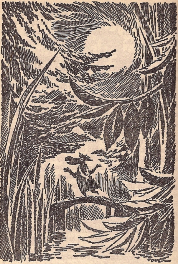 """""""The Hemulen who loved Silence"""" - Tove Jansson, 1973.  I LOVE Tove Jansson's Moomintroll books.  Some of the best."""