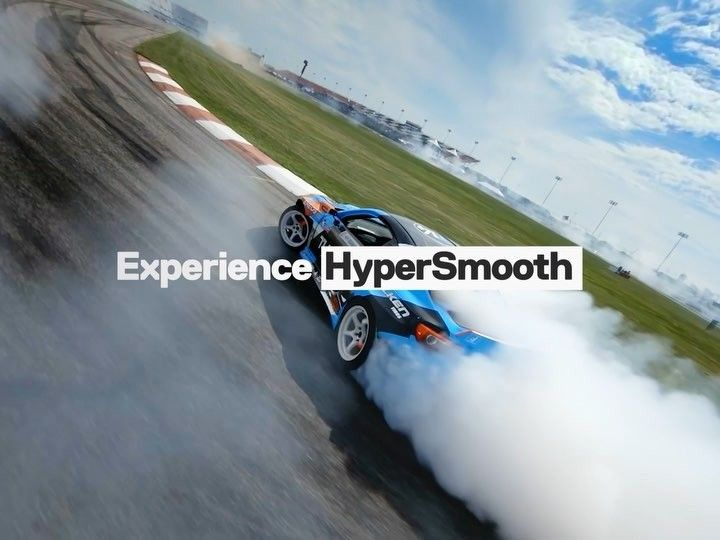 Incredibile HyperSmooth Video Stabilization for the new
