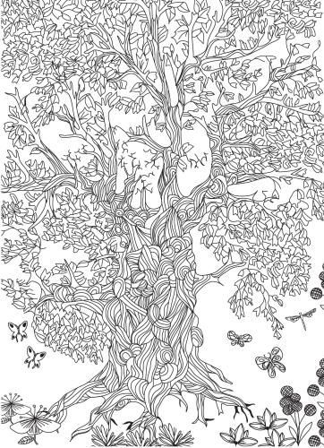Coloring Pages Of Le Trees : 38899 best coloring pages images on pinterest