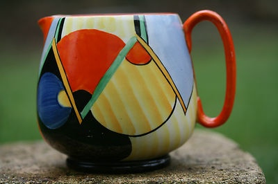 Superb Crown Devon Fieldings Art Deco Geometric Paris Patterned Jug C1930s | eBay