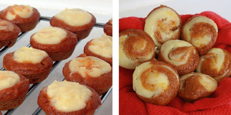 Easy-Pumpkin-Cheesecake-Muffins