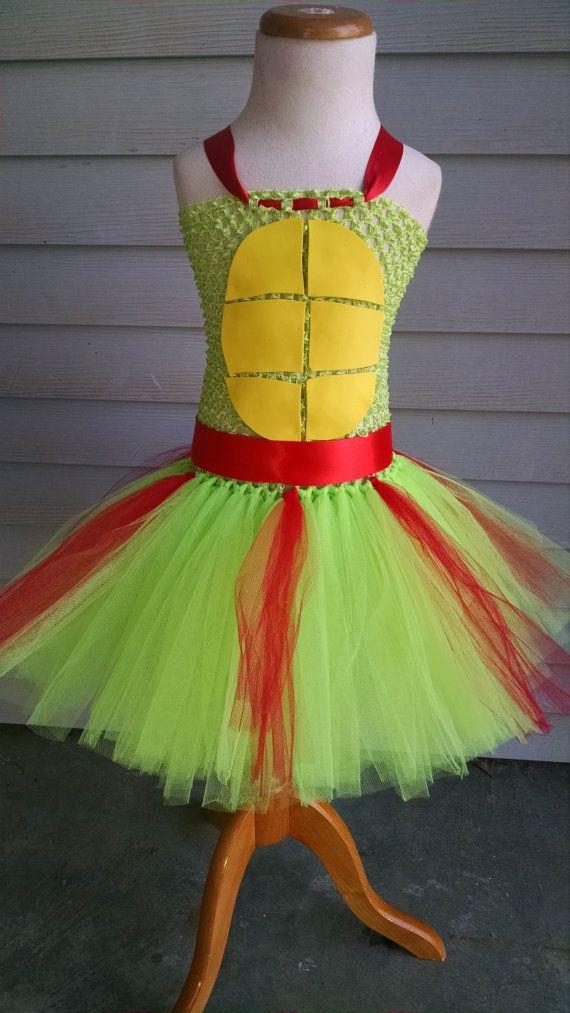 Ninja Turtle Tutu Dress - Ninja Turtle Birthday Dress - Ninja Turtle Halloween Costume - Ninja Turtle Tutu - Ninja Turtle Outfit