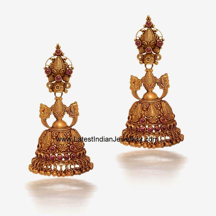 133 best South Indian Bridal Jumiki images on Pinterest | Gold ...