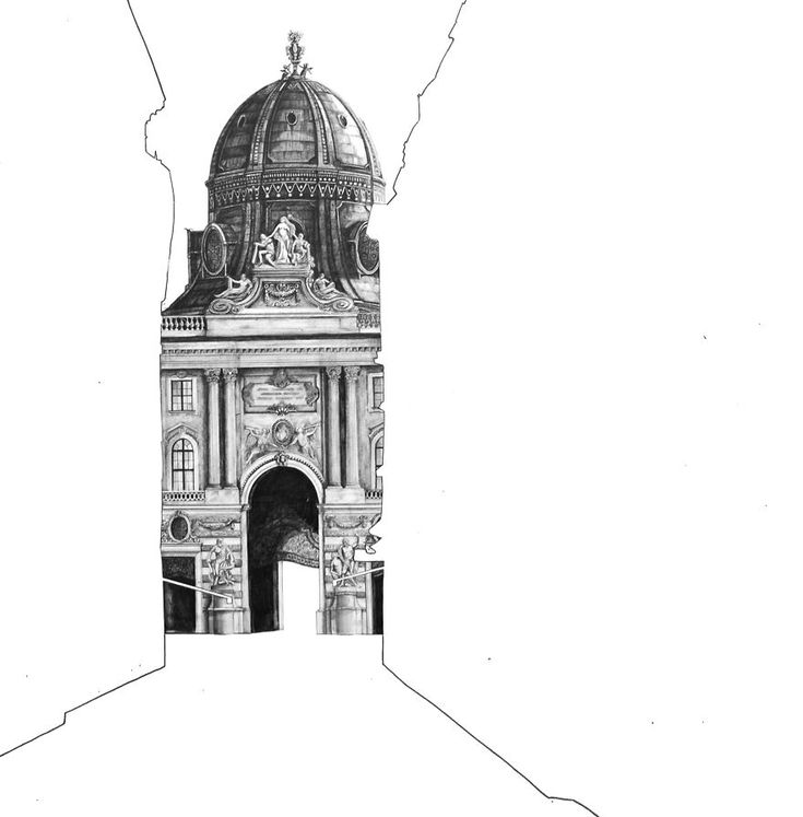 Best Architectural Drawing Of Famous European Building Images