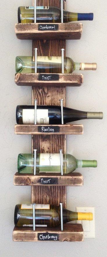 Rustic Chic Wine Rack