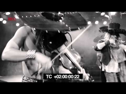 The worlds 1st Heavy metal mariachi band       Metalachi CRAZY TRAIN music video