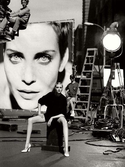 Nadja Auermann  a.k.a Legs - by Peter Lindbergh